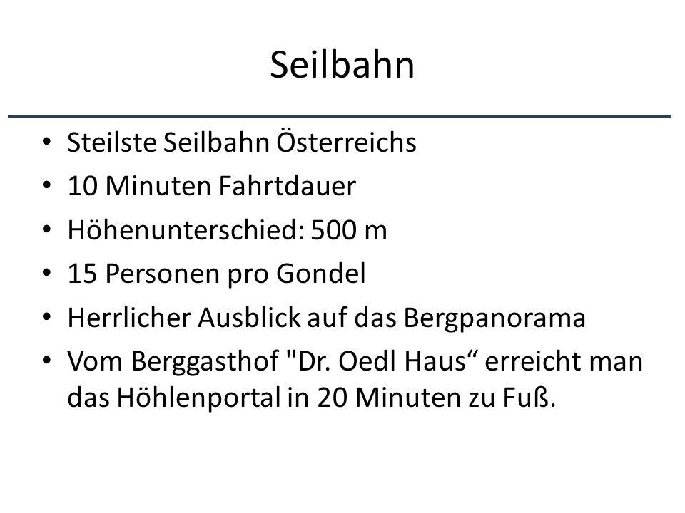 Seilbahn Steilste Seilbahn Österreichs 10 Minuten Fahrtdauer