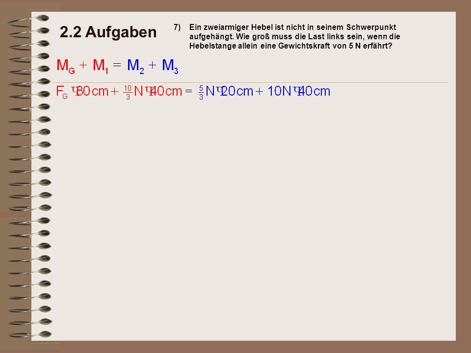2.2 Aufgaben 7)