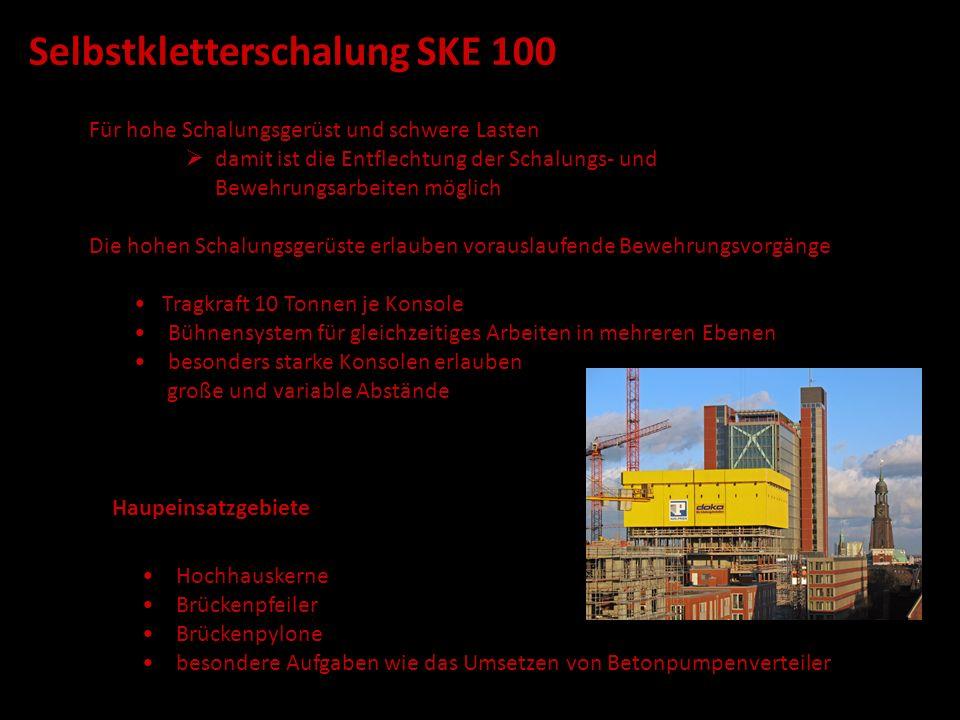 Selbstkletterschalung SKE 100