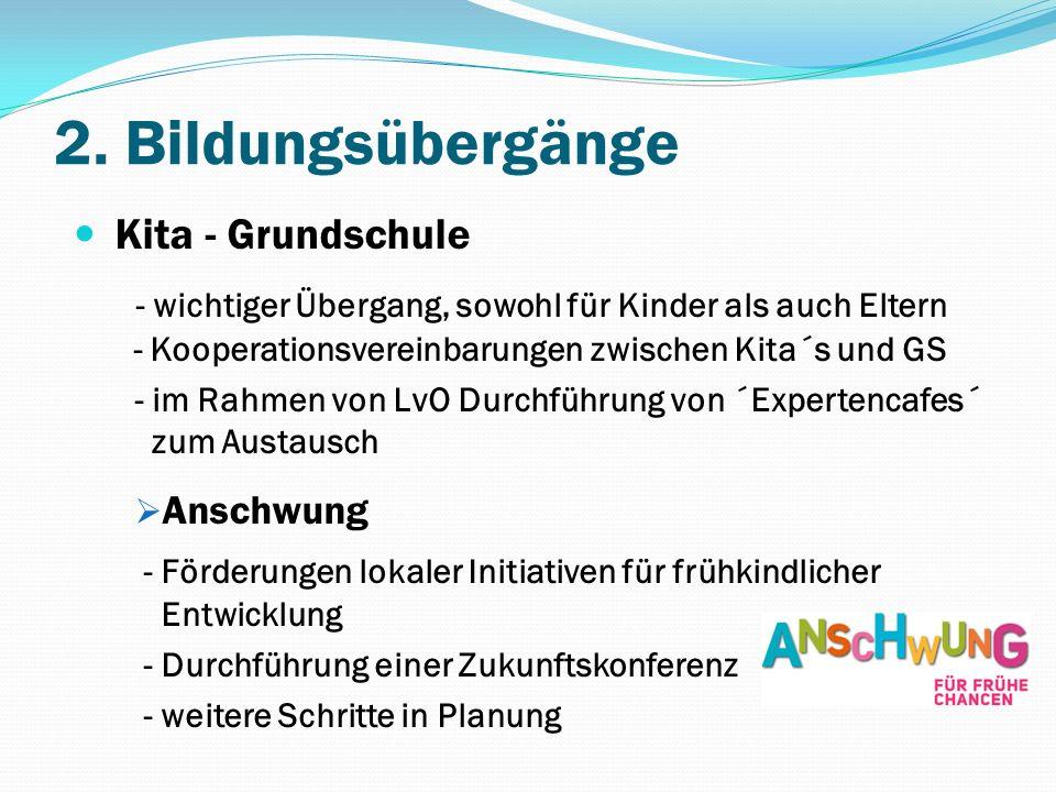 2. Bildungsübergänge Kita - Grundschule