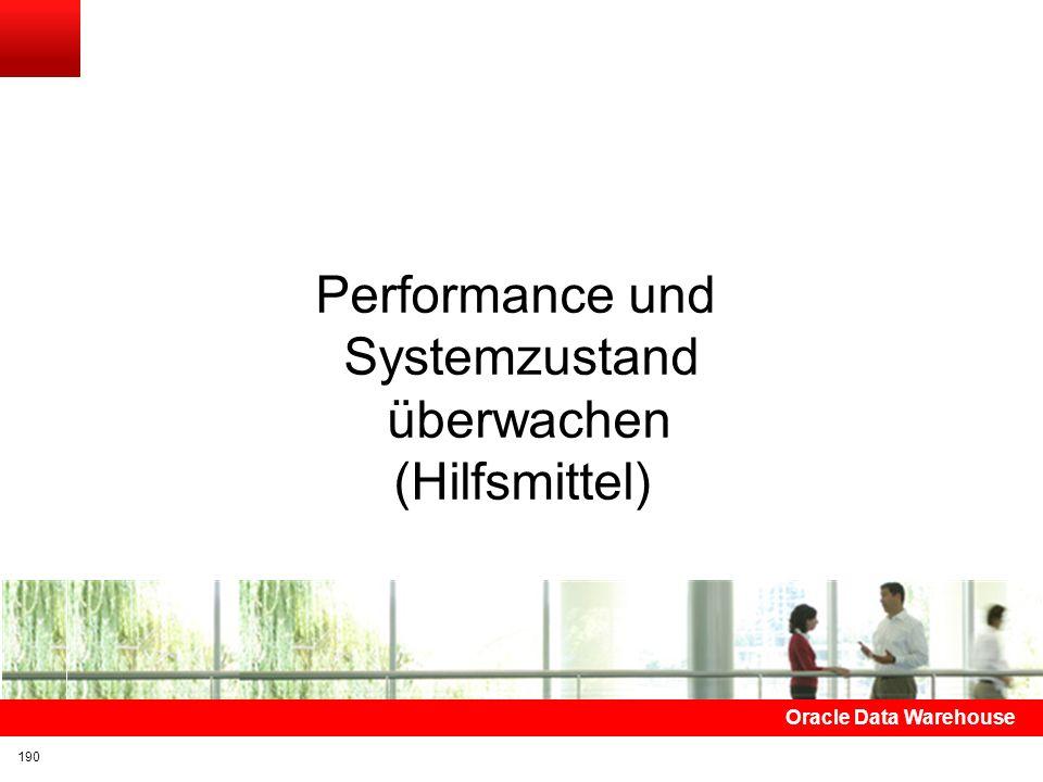 Performance und Systemzustand überwachen