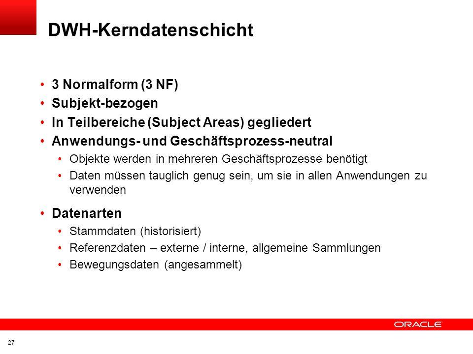 DWH-Kerndatenschicht