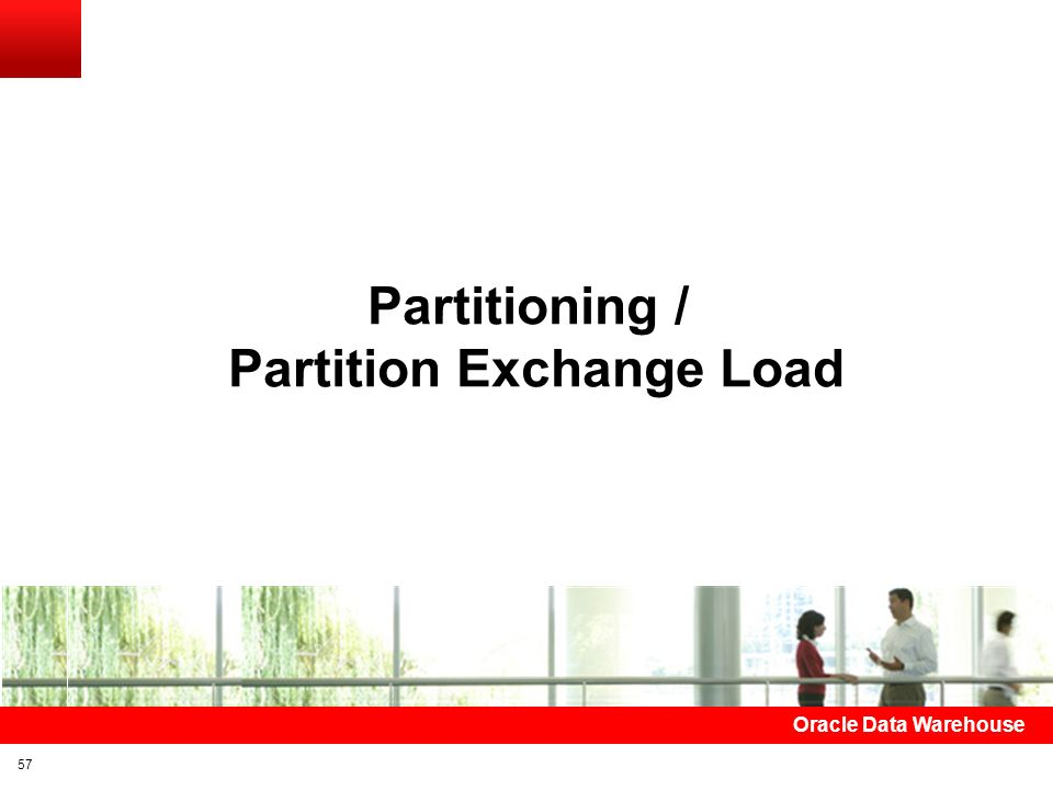 Partition Exchange Load