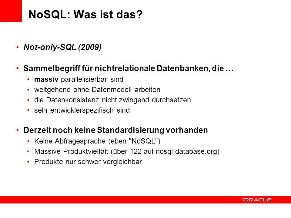 NoSQL: Was ist das Not-only-SQL (2009)