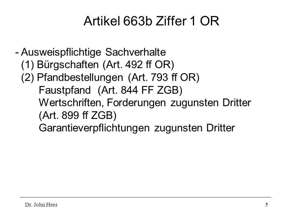 Artikel 663b Ziffer 1 OR