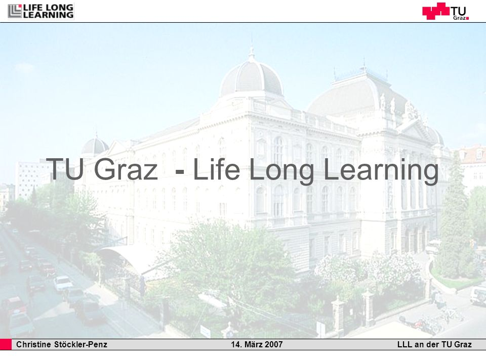 TU Graz - Life Long Learning