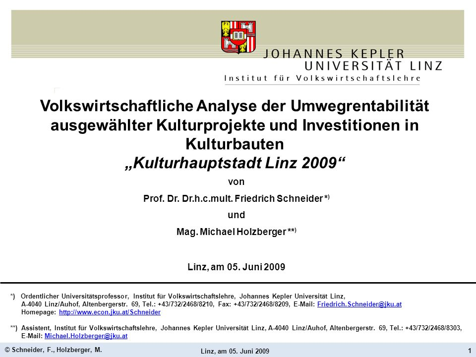"""""""Kulturhauptstadt Linz 2009"""