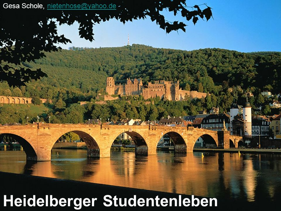 Heidelberger Studentenleben
