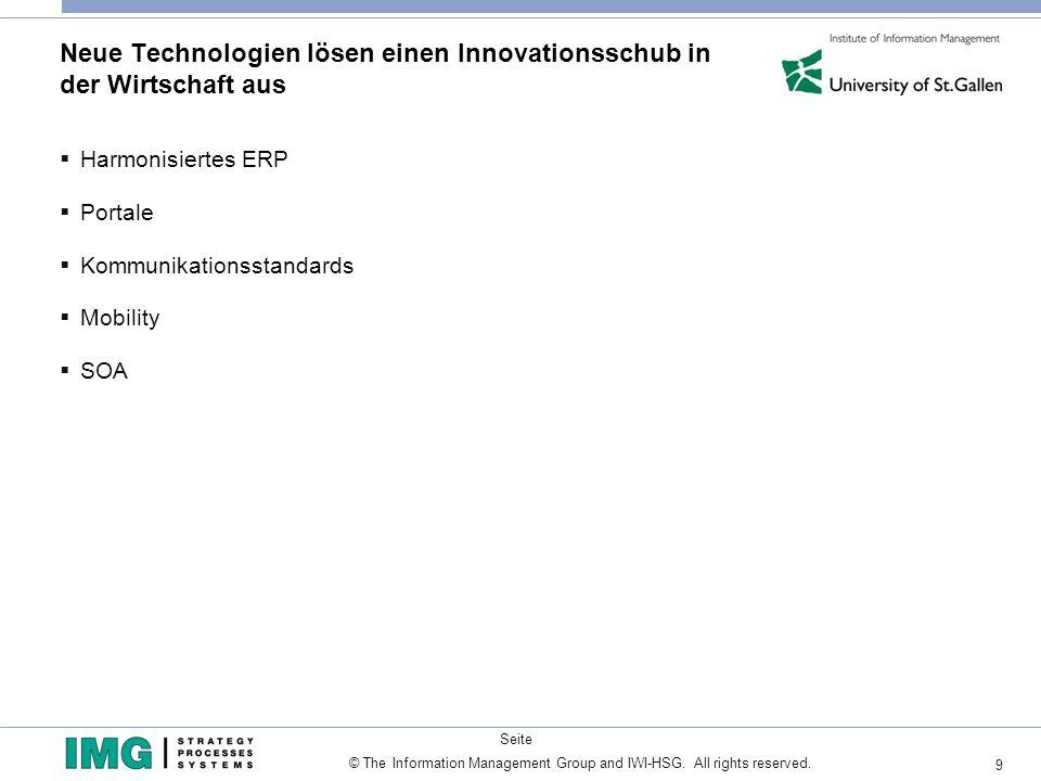 Neue Technologien lösen einen Innovationsschub in der Wirtschaft aus