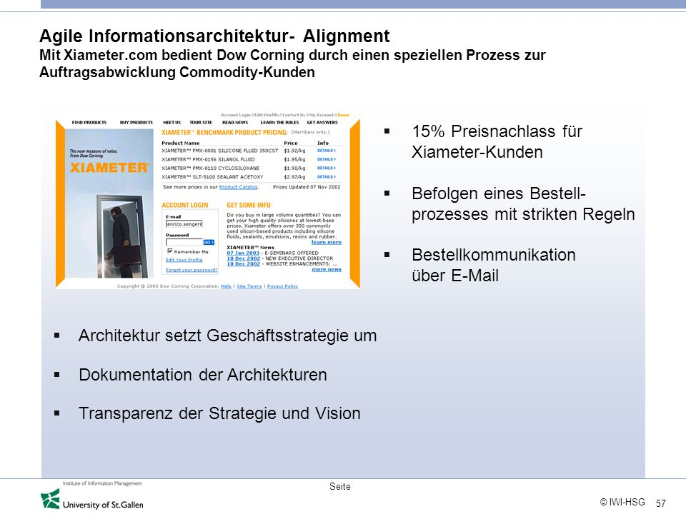 Agile Informationsarchitektur- Alignment Mit Xiameter