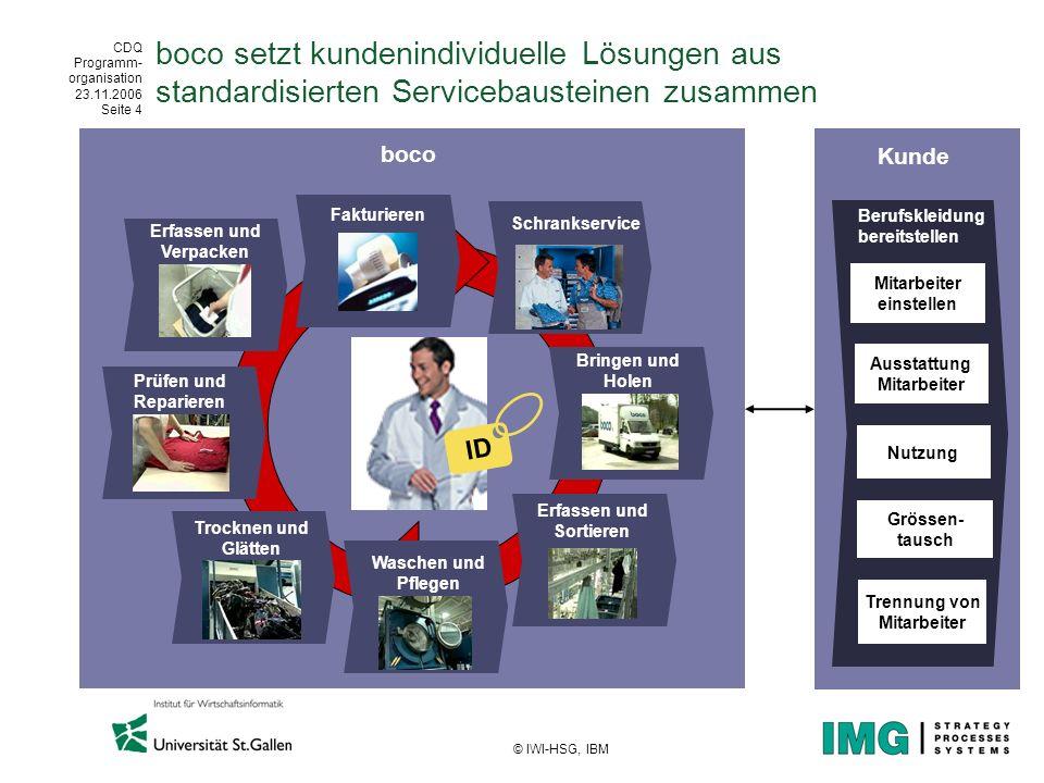 boco setzt kundenindividuelle Lösungen aus standardisierten Servicebausteinen zusammen