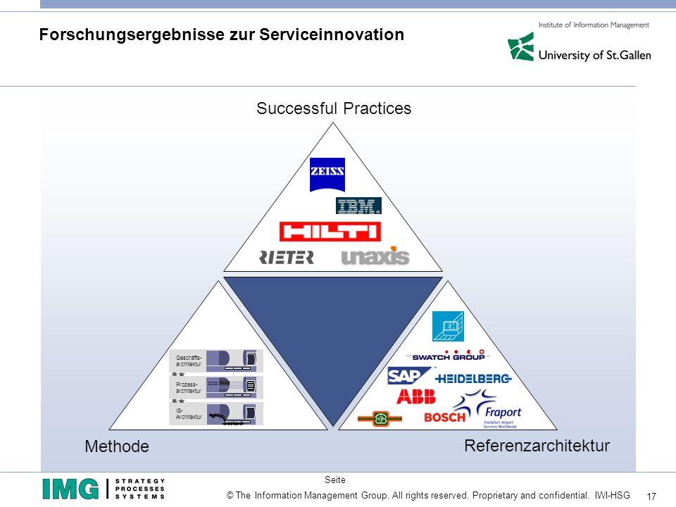 Forschungsergebnisse zur Serviceinnovation