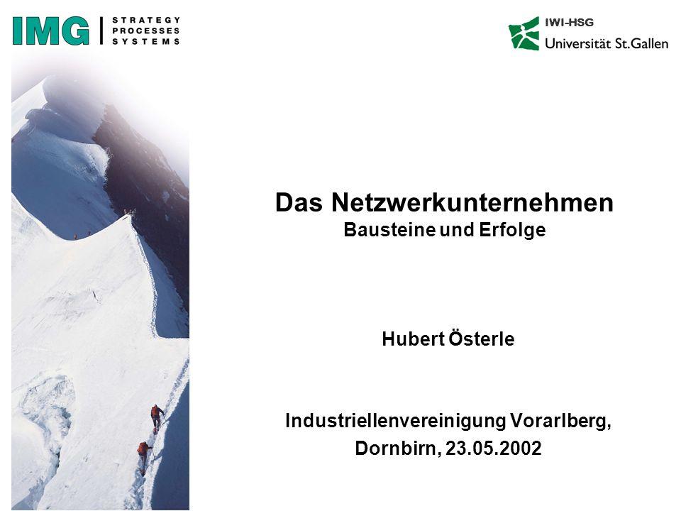 Das Netzwerkunternehmen Bausteine und Erfolge
