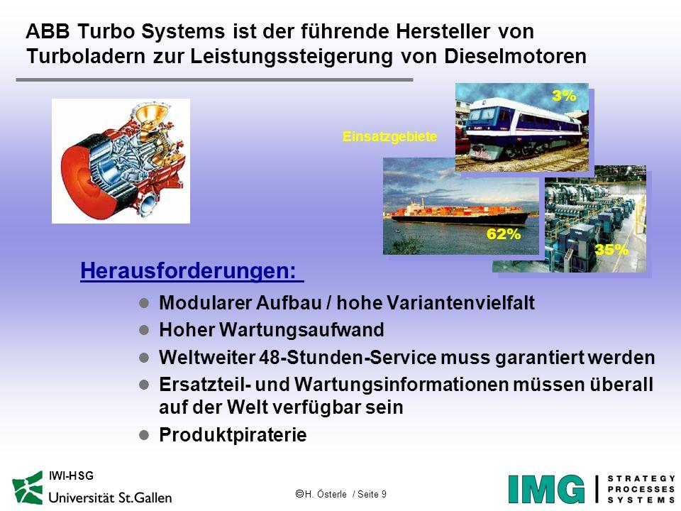 ABB Turbo Systems ist der führende Hersteller von Turboladern zur Leistungssteigerung von Dieselmotoren