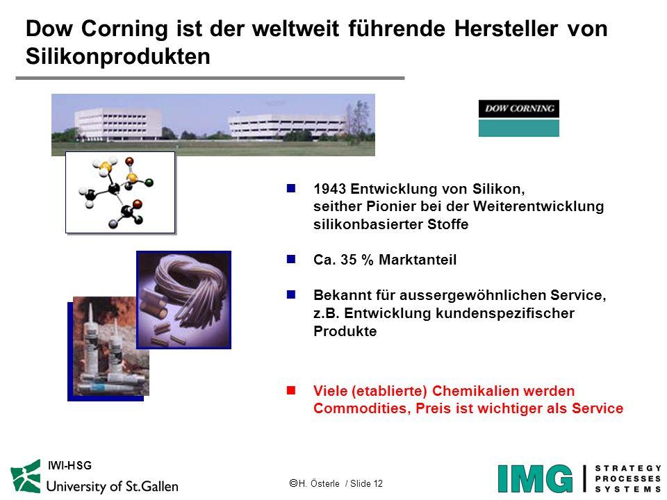 Dow Corning ist der weltweit führende Hersteller von Silikonprodukten