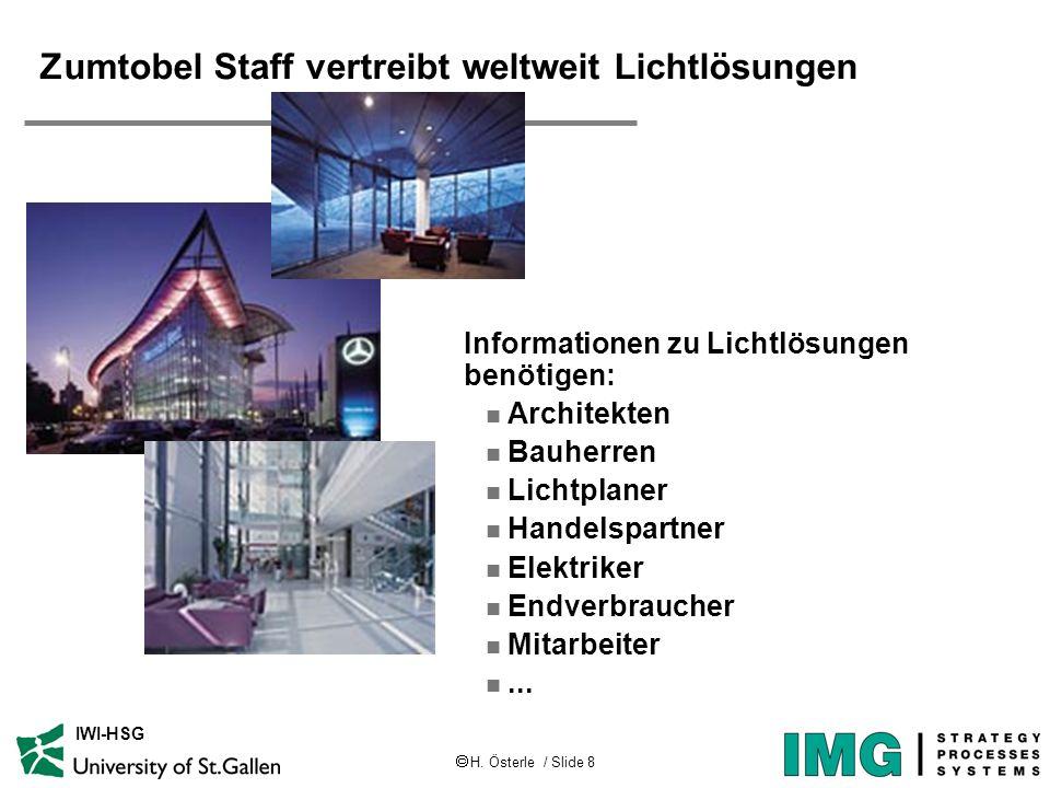 Zumtobel Staff vertreibt weltweit Lichtlösungen