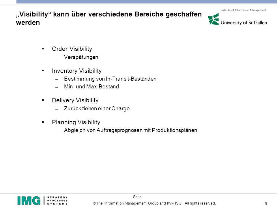 """""""Visibility kann über verschiedene Bereiche geschaffen werden"""