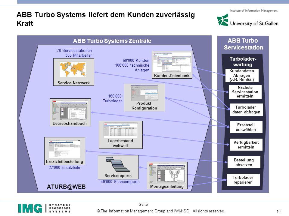 ABB Turbo Systems liefert dem Kunden zuverlässig Kraft
