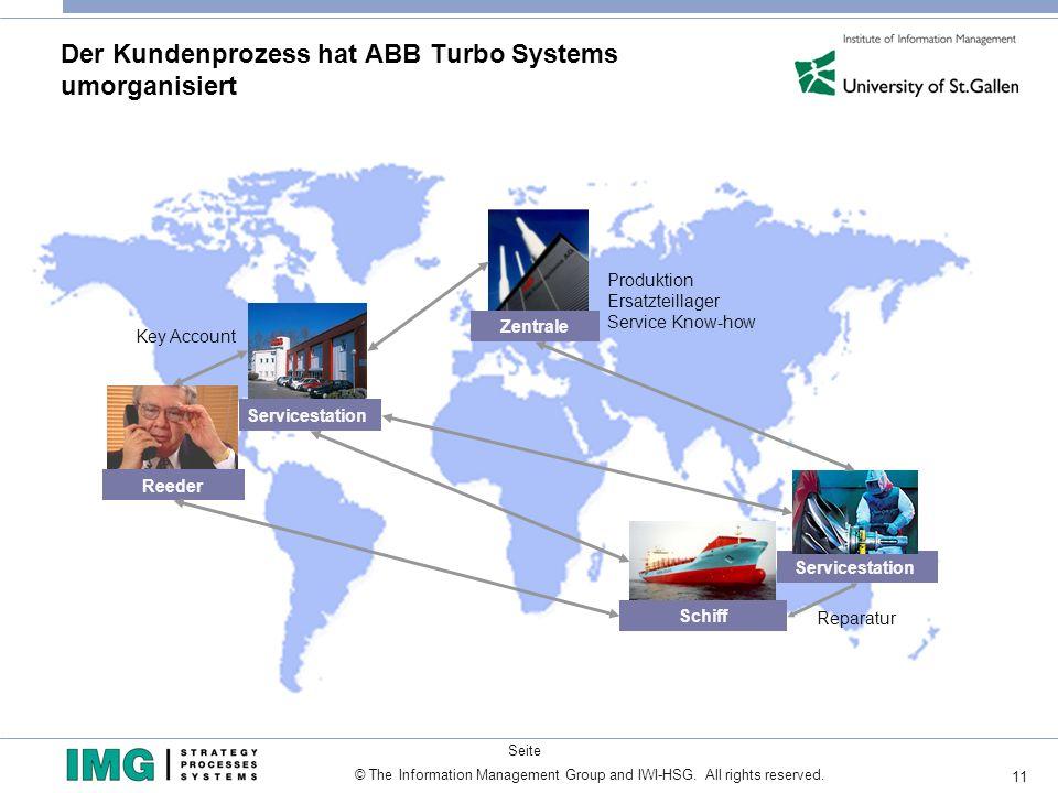 Der Kundenprozess hat ABB Turbo Systems umorganisiert