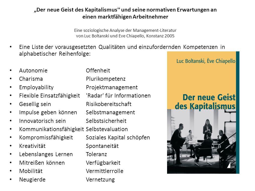 Charisma Plurikompetenz Employability Projektmanagement