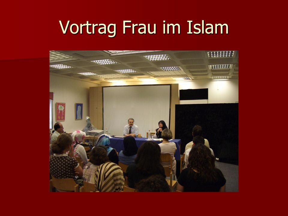 Vortrag Frau im Islam
