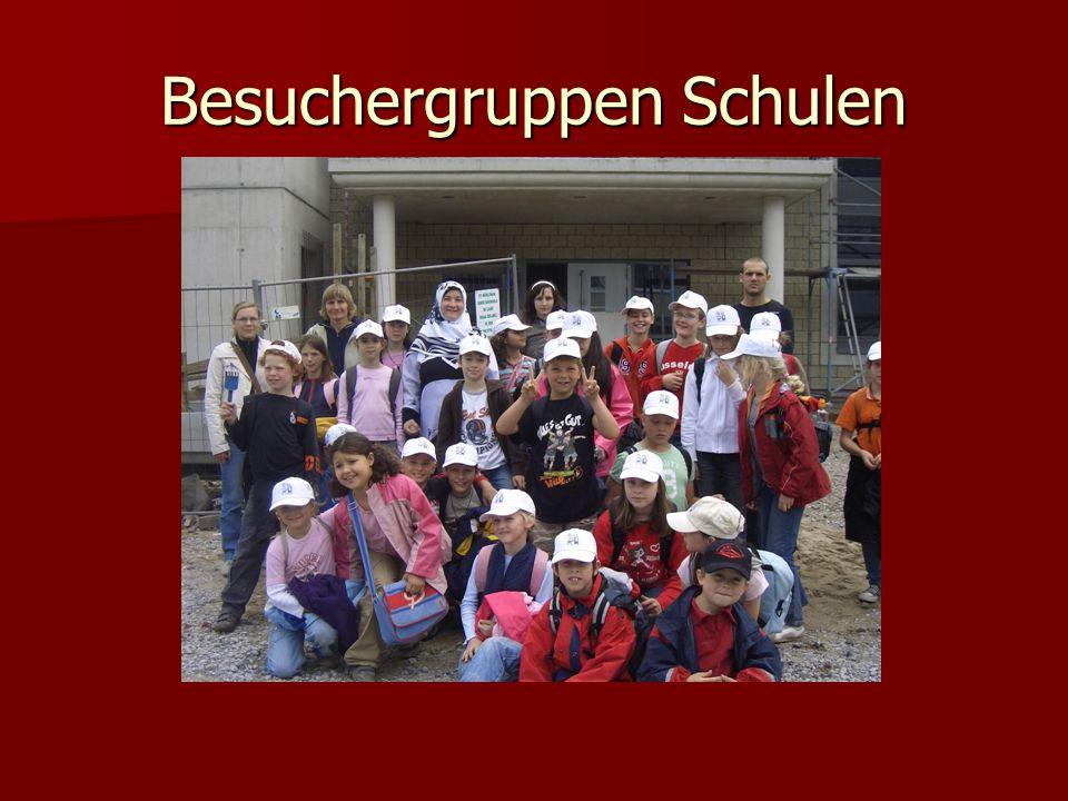 Besuchergruppen Schulen
