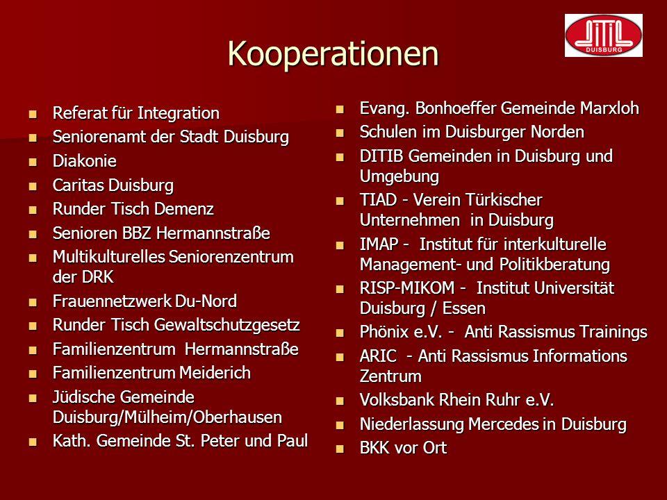 Kooperationen Evang. Bonhoeffer Gemeinde Marxloh
