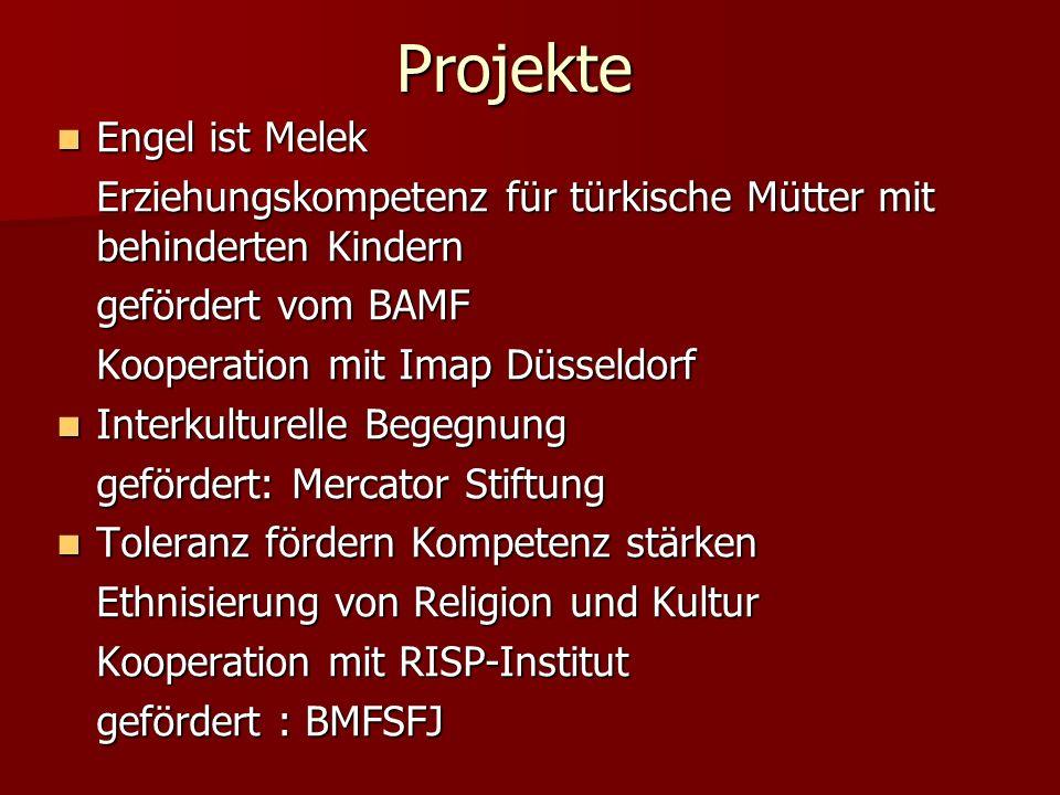 Projekte Engel ist Melek