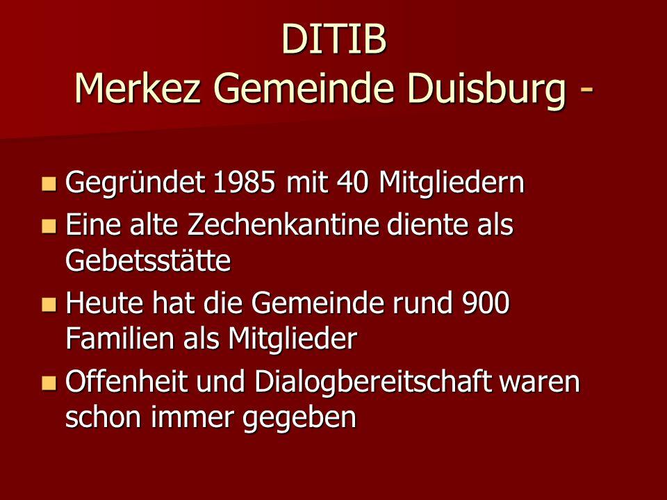 DITIB Merkez Gemeinde Duisburg -