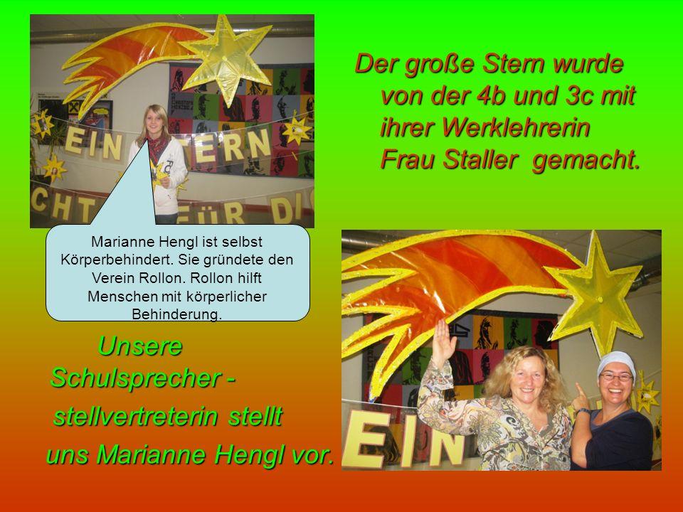 Marianne Hengl ist selbst