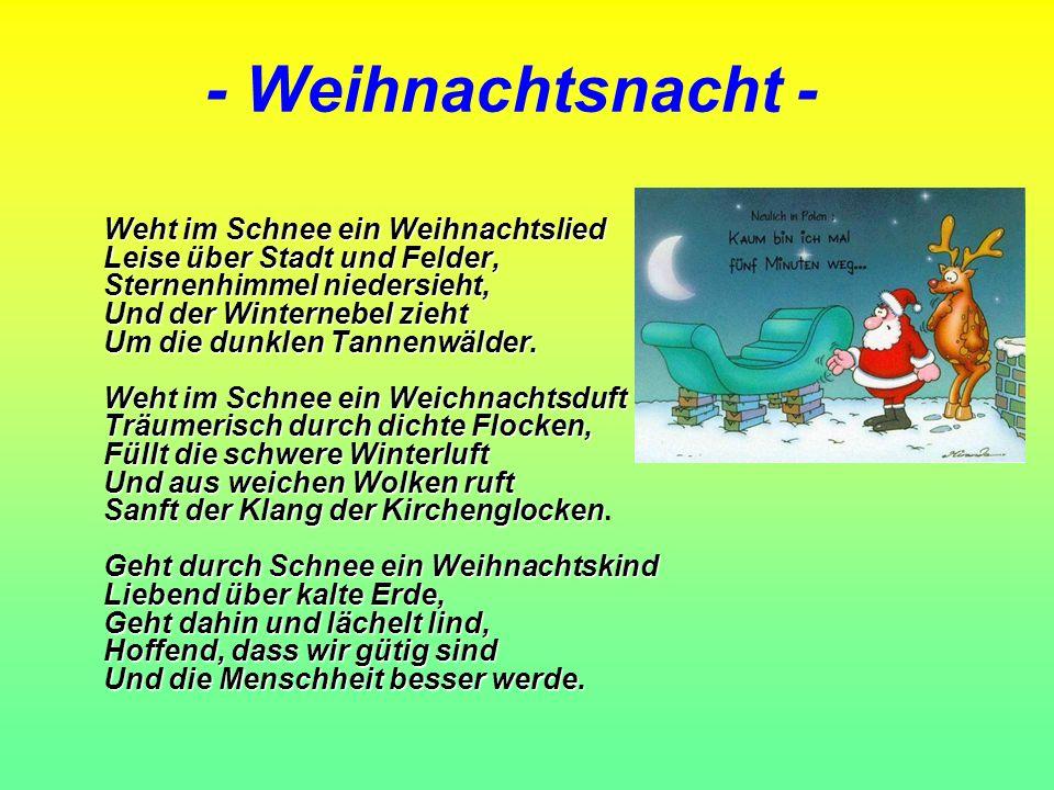 - Weihnachtsnacht -