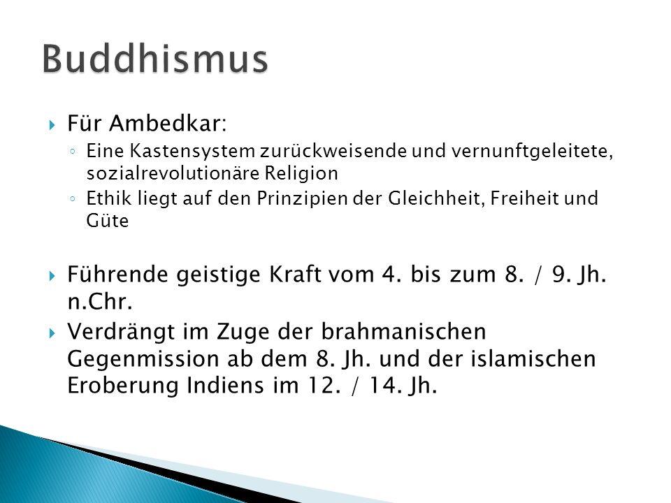 Buddhismus Für Ambedkar: