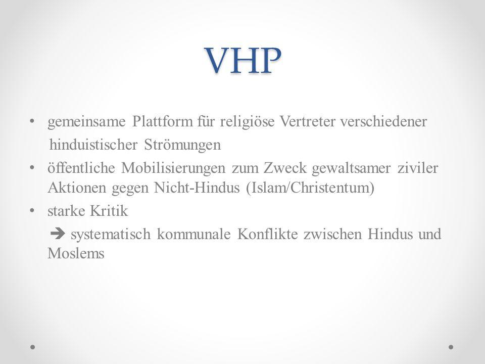 VHP gemeinsame Plattform für religiöse Vertreter verschiedener