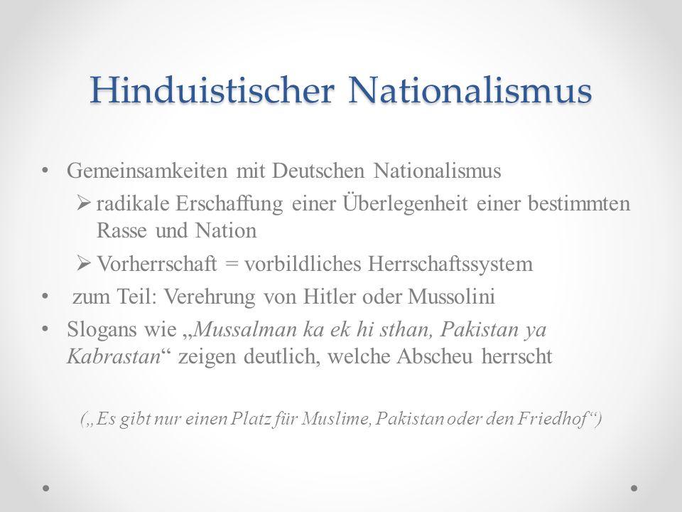 Hinduistischer Nationalismus