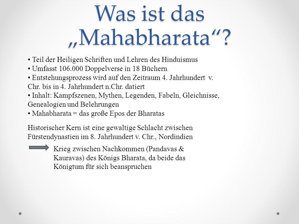 "Was ist das ""Mahabharata"