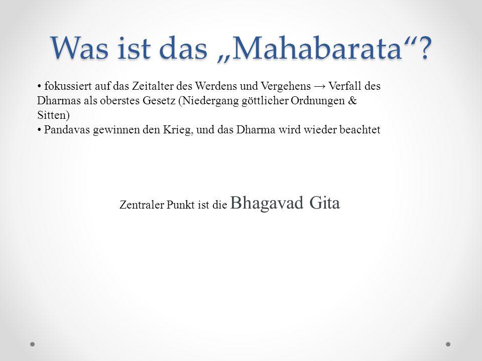 """Was ist das """"Mahabarata"""