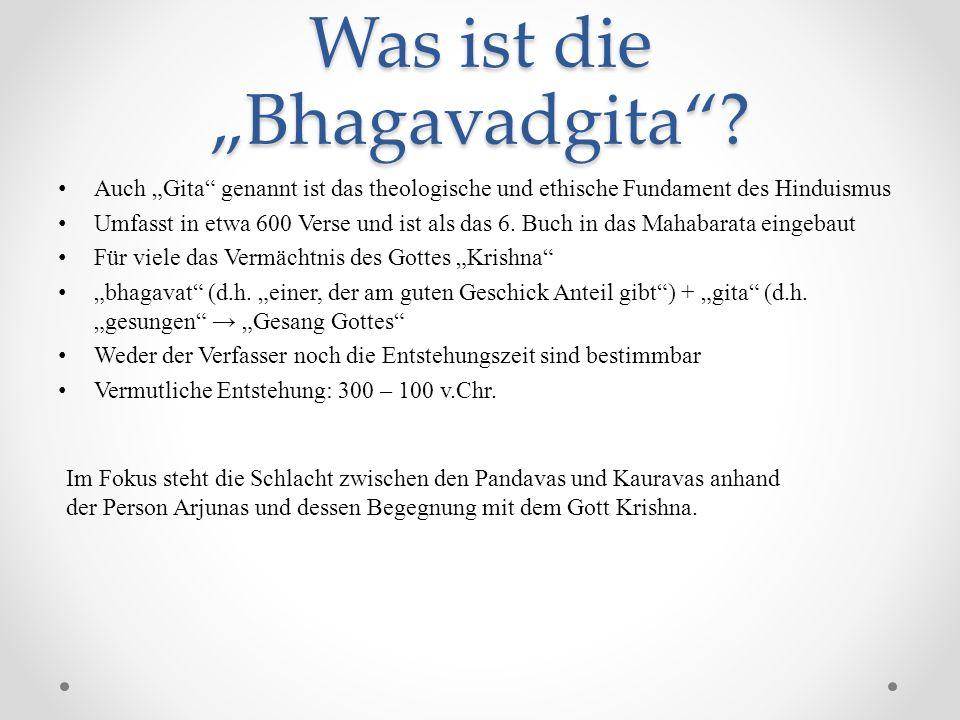 """Was ist die """"Bhagavadgita"""