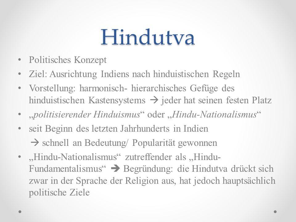 Hindutva Politisches Konzept