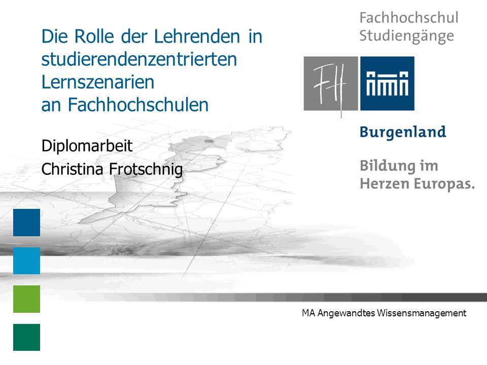 Diplomarbeit Christina Frotschnig