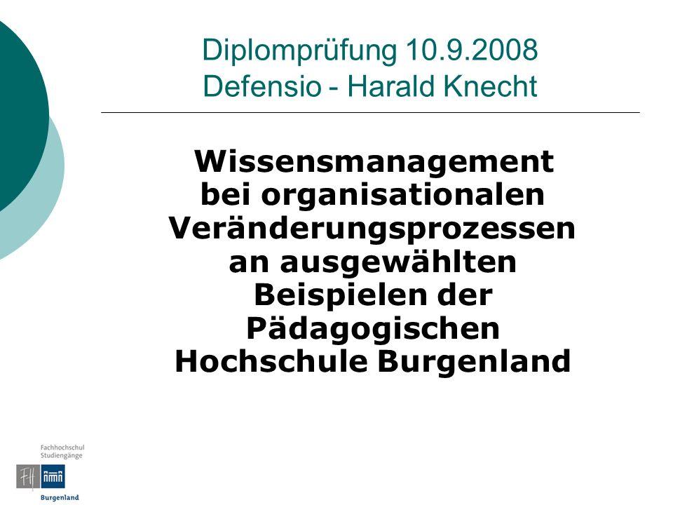 Diplomprüfung 10.9.2008 Defensio - Harald Knecht