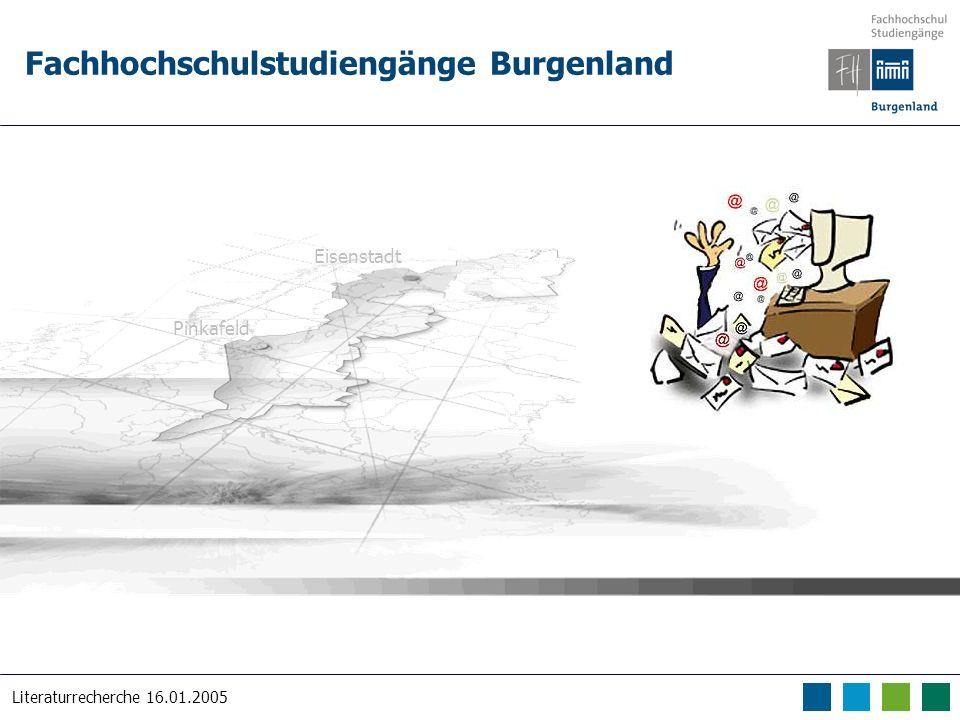 Fachhochschulstudiengänge Burgenland