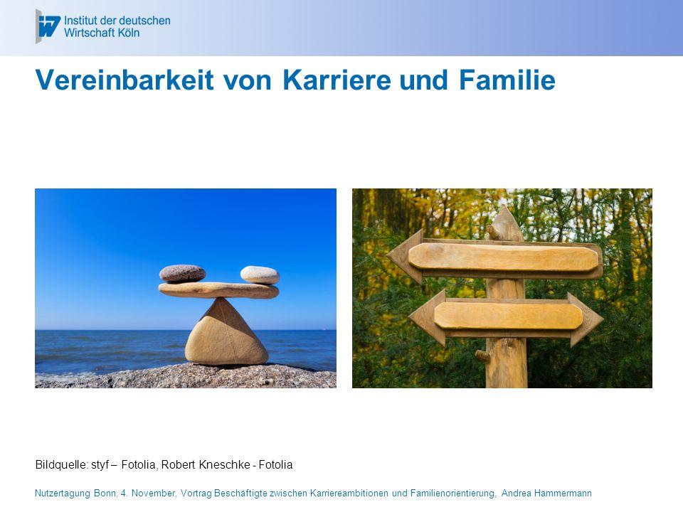 Vereinbarkeit von Karriere und Familie