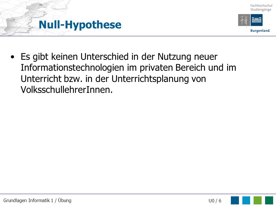 Null-Hypothese
