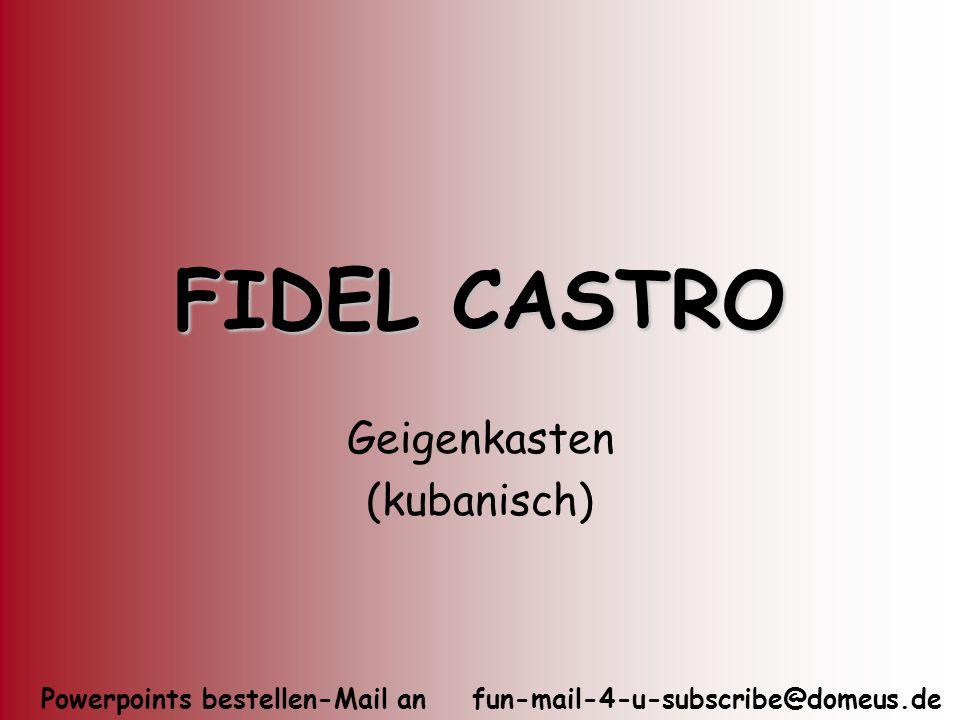 Geigenkasten (kubanisch)