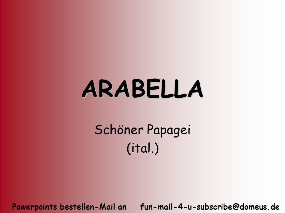 Schöner Papagei (ital.)