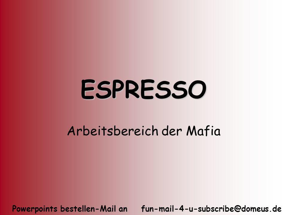 Arbeitsbereich der Mafia