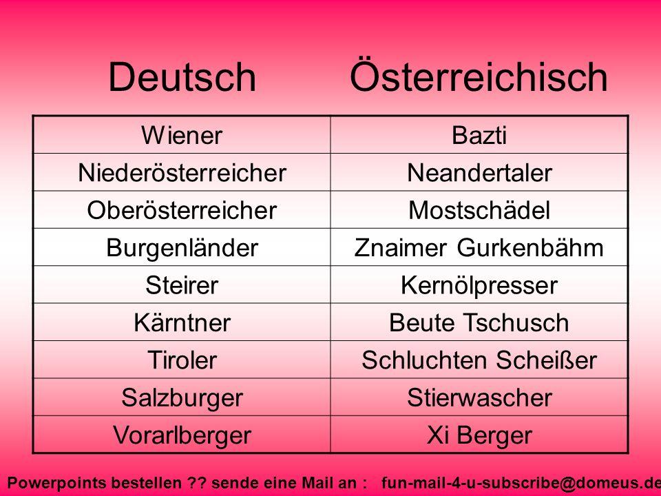 Deutsch Österreichisch Wiener Bazti Niederösterreicher Neandertaler
