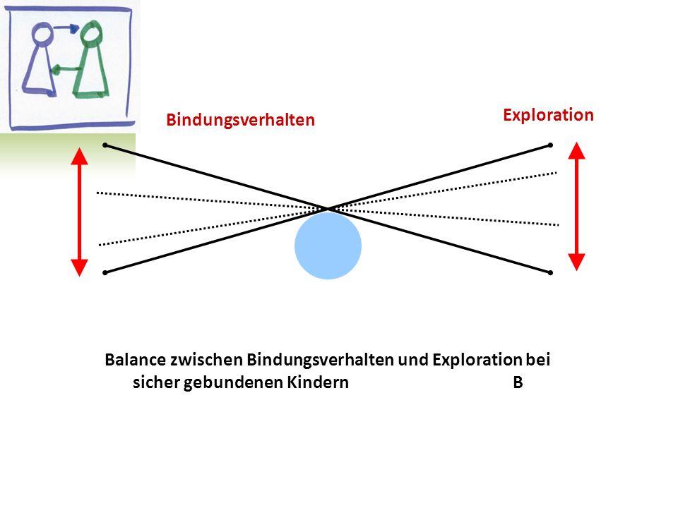 Exploration Bindungsverhalten.