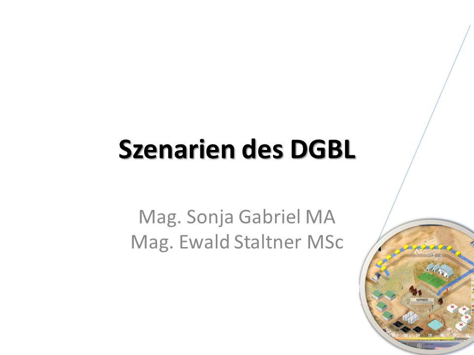 Mag. Sonja Gabriel MA Mag. Ewald Staltner MSc