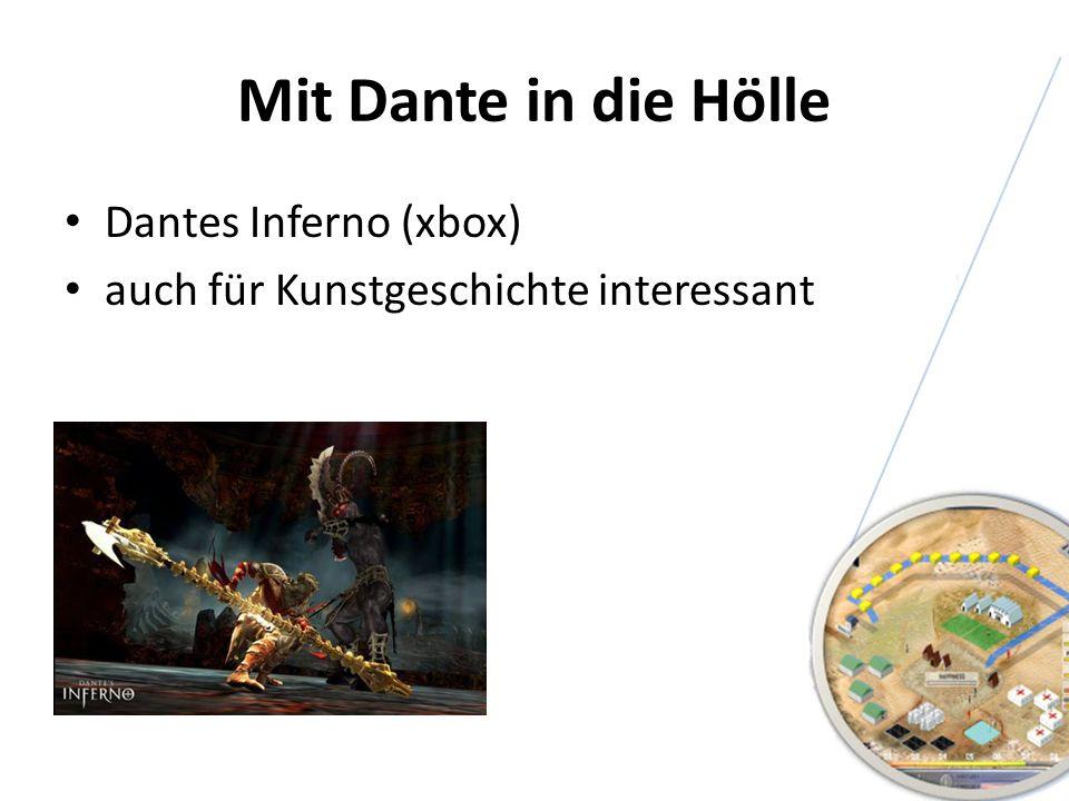 Mit Dante in die Hölle Dantes Inferno (xbox)
